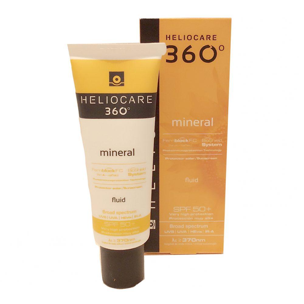 お肌に優しい強力な日焼け止め ヘリオケア360°ミネラル